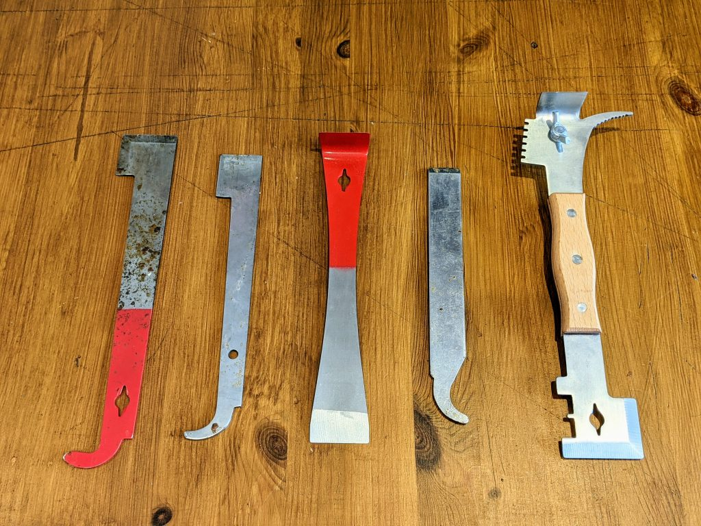 A selection of hive tools